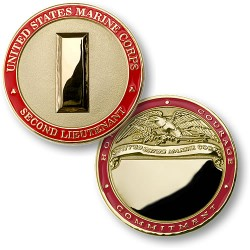 U.S. Marines Second Lieutenant - Engravable