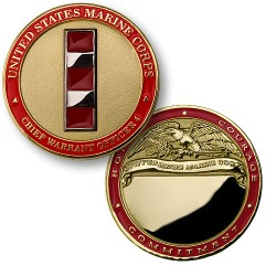 U.S. Marines Chief Warrant Officer 4 - Engravable