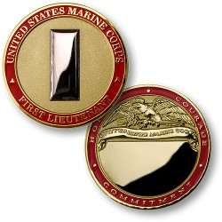U.S. Marines First Lieutenant - Engravable