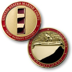 U.S. Marines Chief Warrant Officer 2 - Engravable