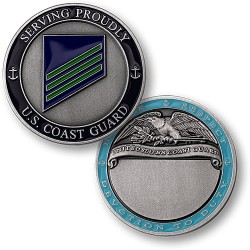 Coast Guard E3 Airman Engravable