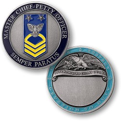 Coast Guard Master Chief Petty Officer Engravable