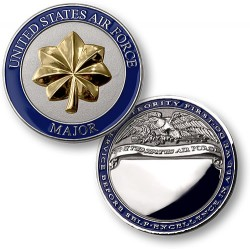 Air Force Major Engravable