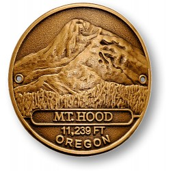 Mount Hood Hiking Stick Medallion