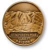 Humphreys Peak Hiking Stick Medallion