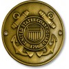 Coast Guard Hiking Stick Medallion