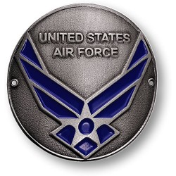 Air Force Hiking Stick Medallion