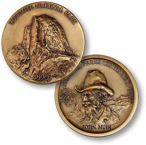 Yosemite National Park Coin
