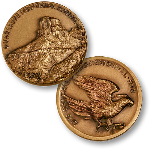Guadalupe Mountains National Park Coin