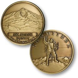 Mt. Adams Summiteer Bronze Antique