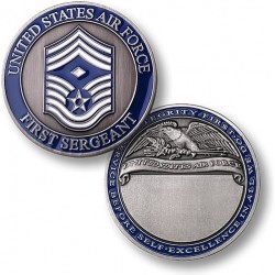 First Sergeant - Engravable E-9