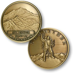 Mt. Baker Summiteer Bronze Antique