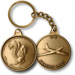 Skunk Works U2 Dragon Lady Key Chain