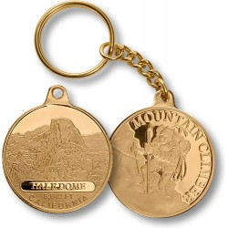 Half Dome Mountain Climber Key Chain