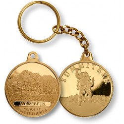 Mt. Shasta Summiteer Key Chain