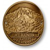 Mt. Rainier Hiking Stick Medallion