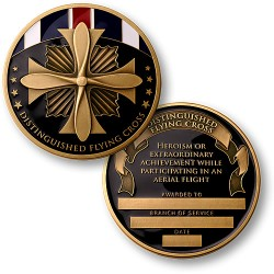 Distinguished Flying Cross Medal Coin
