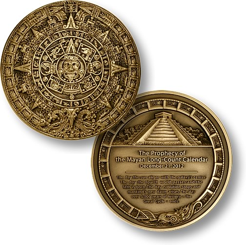 2012 Mayan Prophecy Coin
