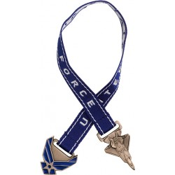 U.S. Air Force Bookmark with 10 Inch Ribbon