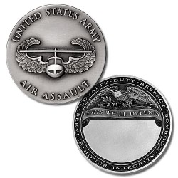 U.S. Army Air Assault Engravable