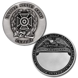 U.S. Army Expert Badge Engravable