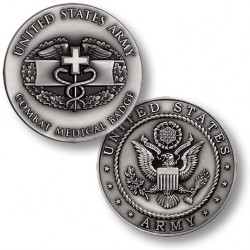 Combat Medical Badge Challenge Coin