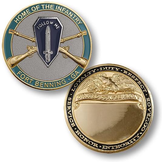 Home Of Infantry Fort Benning Ga Coin