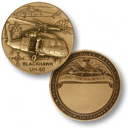 UH-60 Blackhawk Helicopter Engravable