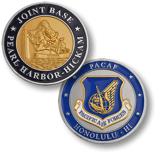 Joint Base Pearl Harbor Hickam Coin