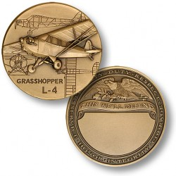 L-4 Grasshopper Engravable