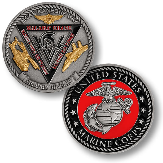 Marine Corps Air Station Kaneohe Bay Coin