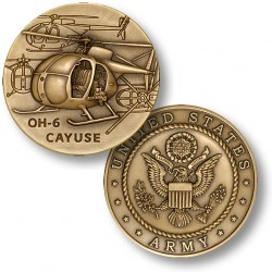 OH-6 Cayuse Challenge Coin