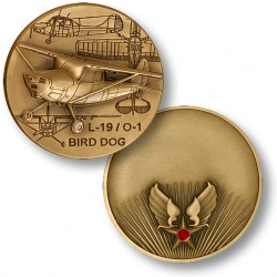 L-19 / O-1 Bird Dog -- Hap Arnold Engravable