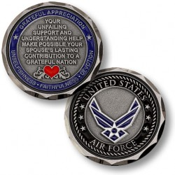 Air Force Spouse Challenge Coin