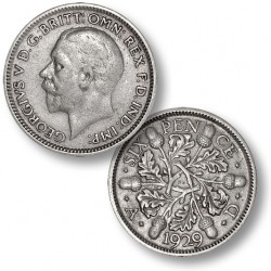 .500 silver sixpence