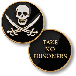 No Prisoners Challenge Coin