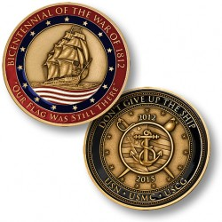 Naval Historical Foundation War of 1812 Bicentennial Commemorative Medal