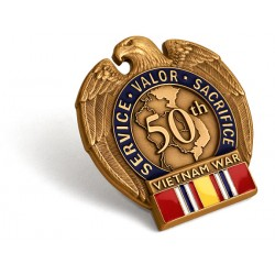 Vietnam War 50th Anniversary Vietnam-Era Veteran Commemorative Insignia