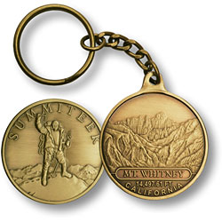 Mt. Whitney Summiteer KC Bronze Antique