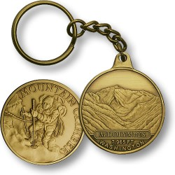 Mt. Olympus Mountain Climber KC Bronze Antique