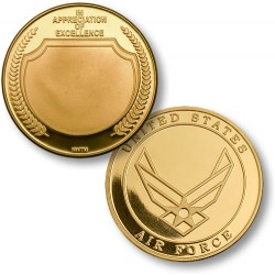 In Appreciation USAF Emblem MerlinGold®