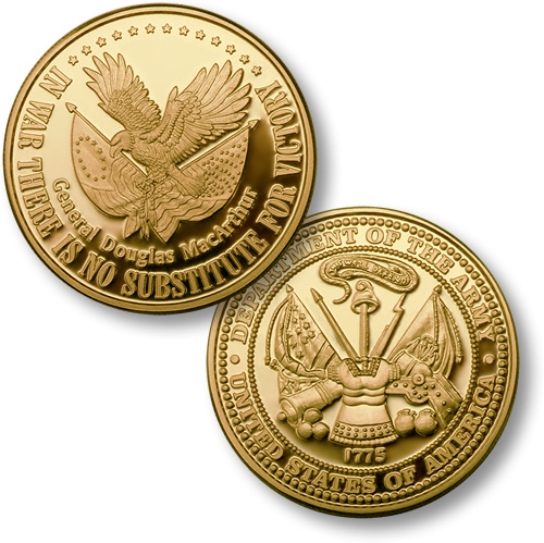 No Substitute For Victory Army Merlingold 174 Coin