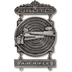 JROTC Air Rifle Sharpshooter Badge