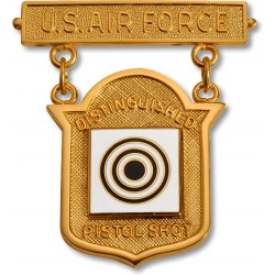Air Force Distinguished Pistol Shot Badge
