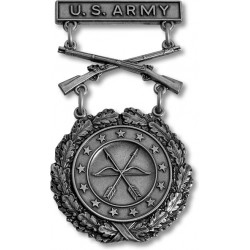 Army Excellence in Competition Silver Rifle Badge