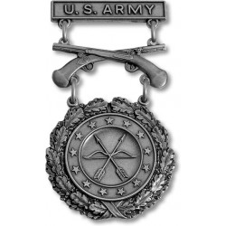 Army Excellence in Competition Silver Pistol Badge
