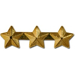 Star, Triple 3/16 inch Gold Ribbon Attachment