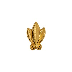 Laurel Leaf Gold Ribbon Attachment