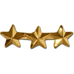 Star Triple 5/16 inch Gold Ribbon Attachment