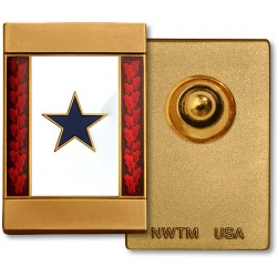 Blue Star Commemorative Insignia - Engravable
